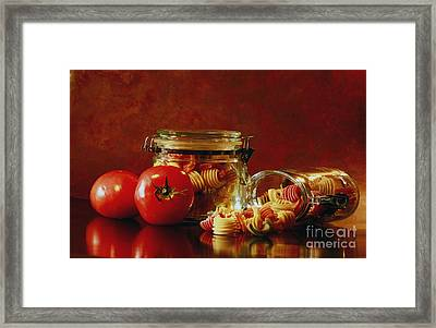 Discover A Taste Of Italy  Framed Print by Inspired Nature Photography Fine Art Photography