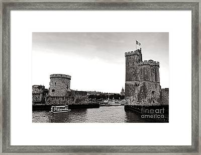 Discovering La Rochelle Framed Print by Olivier Le Queinec