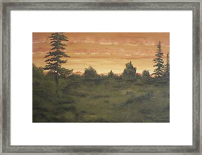 Framed Print featuring the painting Discovery by Christie Minalga
