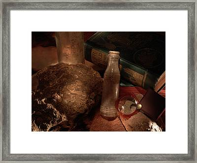 Discovery Framed Print by Daniel Alcocer