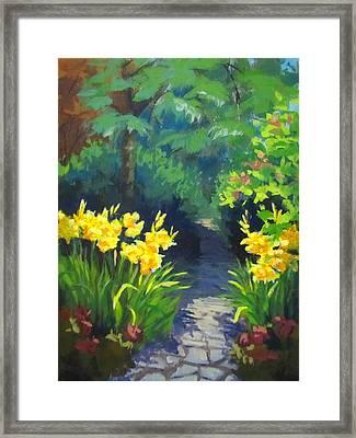 Discovery Garden Framed Print
