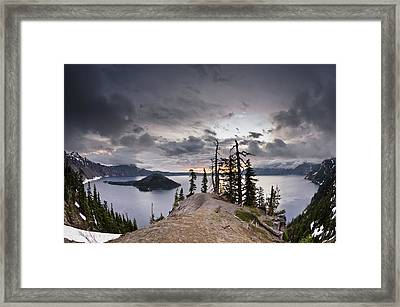 Discovery Point At Dawn Framed Print by Greg Nyquist