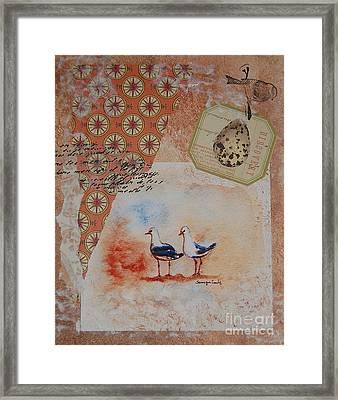 Discovery  Framed Print by Tamyra Crossley