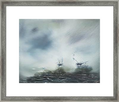 Discovery Framed Print by Vincent Alexander Booth