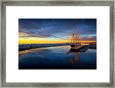 Discovery World Framed Print by Phil Koch