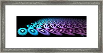 Discs Of Tron Framed Print by Brian Kenney