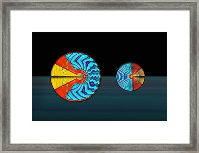 Disdain Framed Print by Cesar humberto  Fernandez basaldua