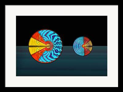 Disdain Digital Art Framed Prints