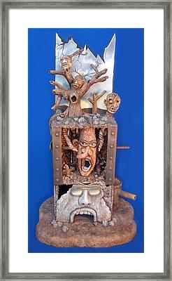 Disgruntled Again Framed Print by Stuart Swartz