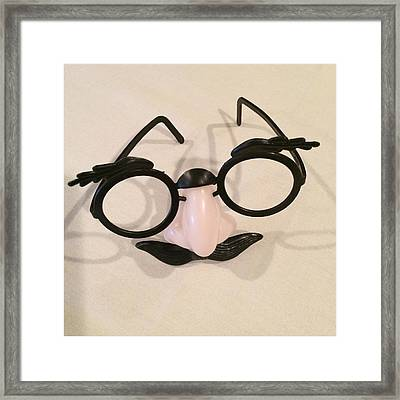 Disguise Framed Print by Patricia Januszkiewicz