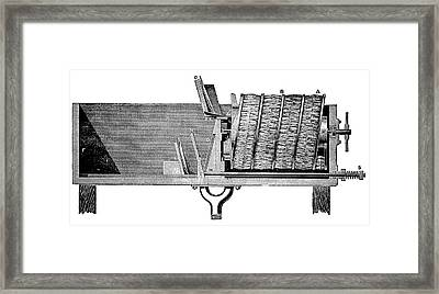 Dishwashing Machine Framed Print by Science Photo Library