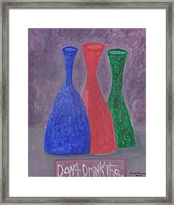 Disillusion Framed Print by Carol  Eliassen