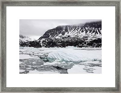 Disko Island Framed Print by Mikkel Juul Jensen