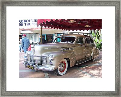 Framed Print featuring the photograph Disney Cadillac by Tom Doud