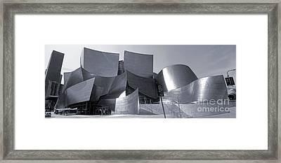 Disney Concert Hall - 02 Framed Print by Gregory Dyer