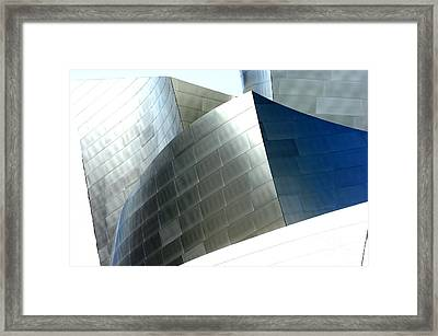 Disney Concert Hall 9-1 Framed Print by Micah May
