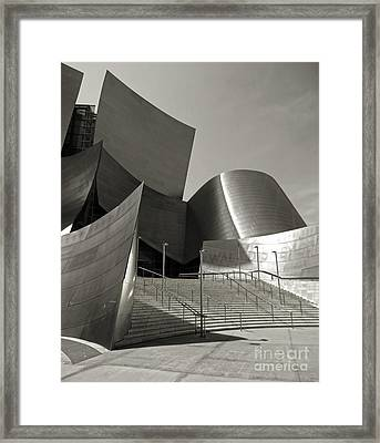 Disney Concert Hall Framed Print by Gregory Dyer