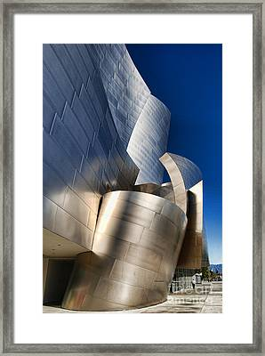 Disney Concert Hall Framed Print