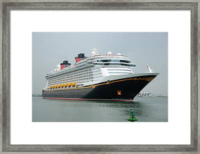 Disney Dream Framed Print