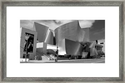Disney Hall Framed Print
