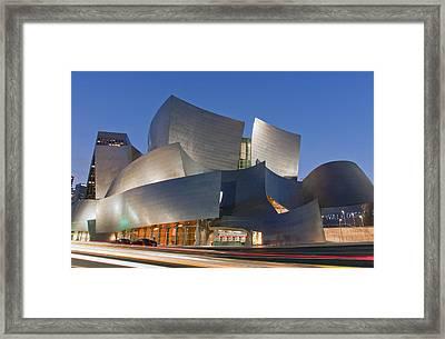 Disney Hall Framed Print by Matthew Bamberg