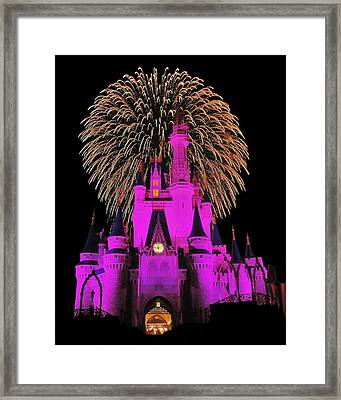 Disney Magic Framed Print