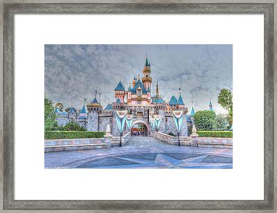 Disney Magic Framed Print by Heidi Smith