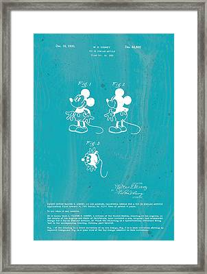 Disney Mickey Mouse Framed Print