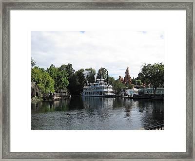 Disneyland Park Anaheim - 121212 Framed Print by DC Photographer