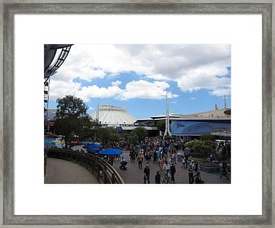 Disneyland Park Anaheim - 121249 Framed Print