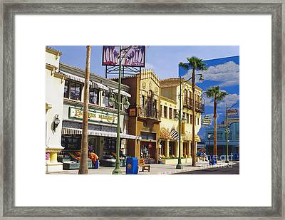 Disneys California Adventure Park Framed Print