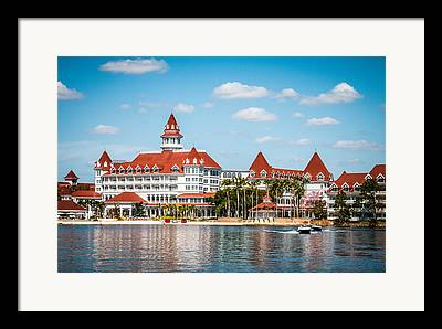 Hotels And Resorts Framed Prints