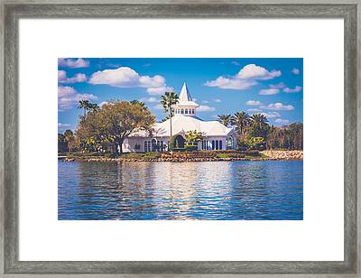 Disney's Wedding Pavilion Framed Print