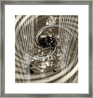 Disorder Upgrade Framed Print by Florin Birjoveanu