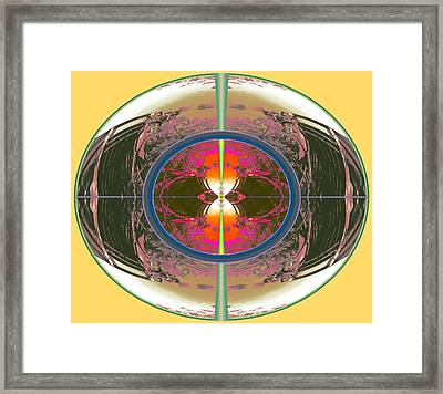 Dispatched Dream Controlling The Future 2014 Framed Print by James Warren