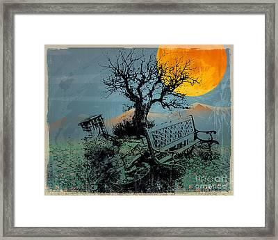 Displaced Memories Framed Print by Bedros Awak