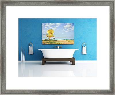 Displaying Fine Art Photography Framed Print by Edward Fielding