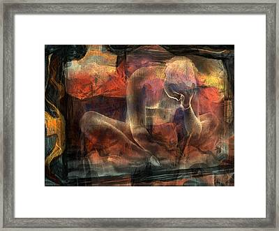 Disquietude-days Of Nothing (2) Framed Print