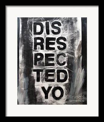 Urban Poetry Framed Prints