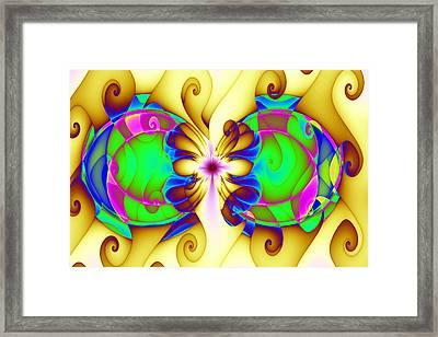 Disrupted Gnarls Framed Print by Mark Eggleston