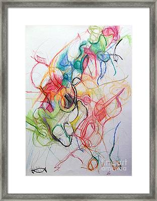 Dissapating Worry 1 Framed Print
