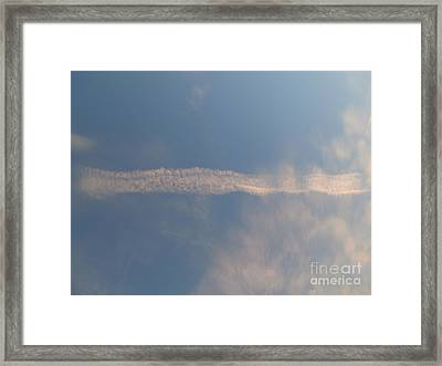Dissipation  Framed Print by Joseph Baril