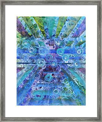 Dissonance Framed Print by Regina Valluzzi
