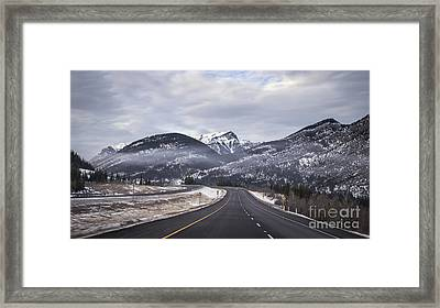 Distance Is Near Framed Print by Evelina Kremsdorf