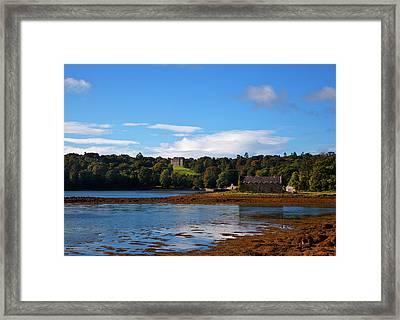 Distant Castleward House - Showing Framed Print