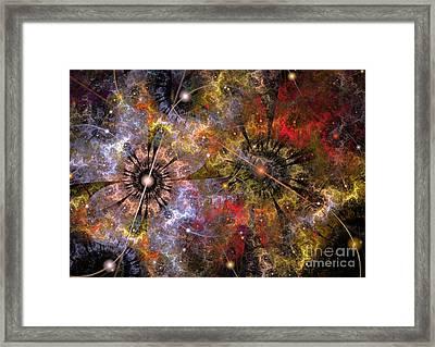 Distant Cosmos Framed Print by Svetlana Nikolova