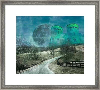 Distant Emerald Framed Print by Betsy Knapp
