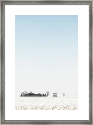 Distant Farm Framed Print by Margie Hurwich