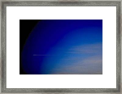 Distant Flight 5  Framed Print by Lyle Crump