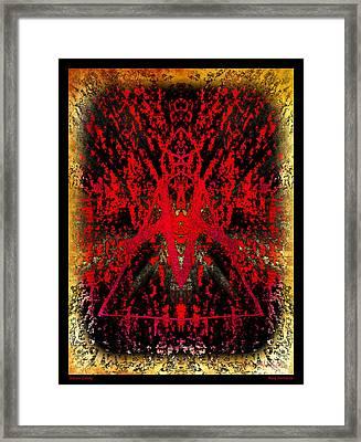 Distant Galaxy Framed Print by Roxy Hurtubise